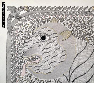 Tiger in the Grass - Pradyumna Kumar