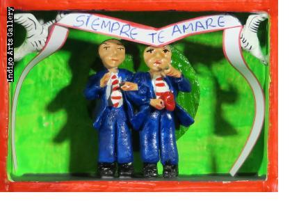 Siempre Te Amare - Gentlemen's Wedding Retablo