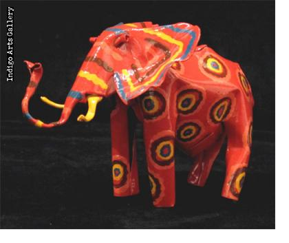 Painted Elephant (medium size)