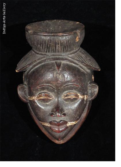 Fine old Punu Lumbo Mask