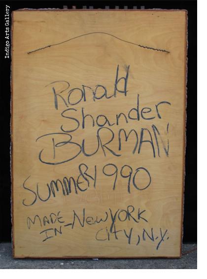 Ronald Shander Burman (New York, NY, USA)