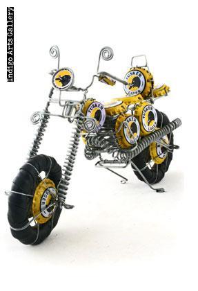 Bottlecap Motorcycle