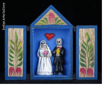 Novios Eternos Retablo (Married for all time)
