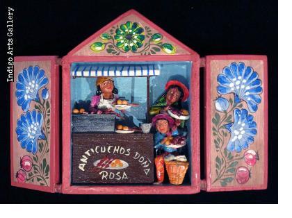 Anticuchos Vendor Retablo