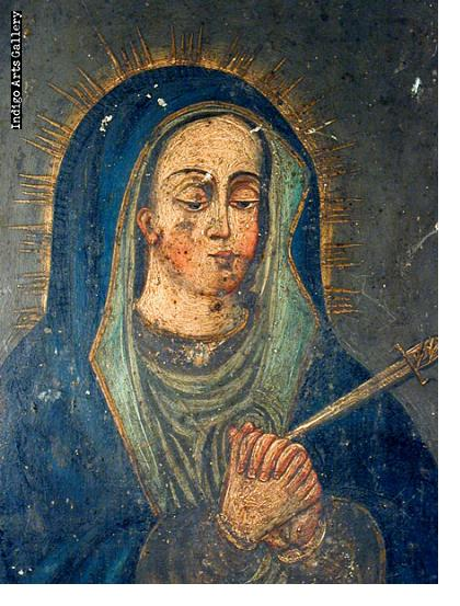 Nuestra Senora de Dolores or Mater Dolorosa (Our lady of Sorrows)