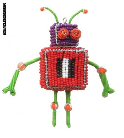 Robot Ornament # 2