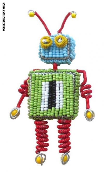 Robot Ornament #3