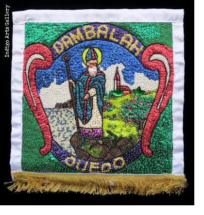 Dambalah Ouedo- Vodou Flag
