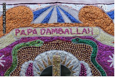 Papa Damballah - Vodou flag