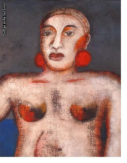 Mario Romero - Woman with Chair