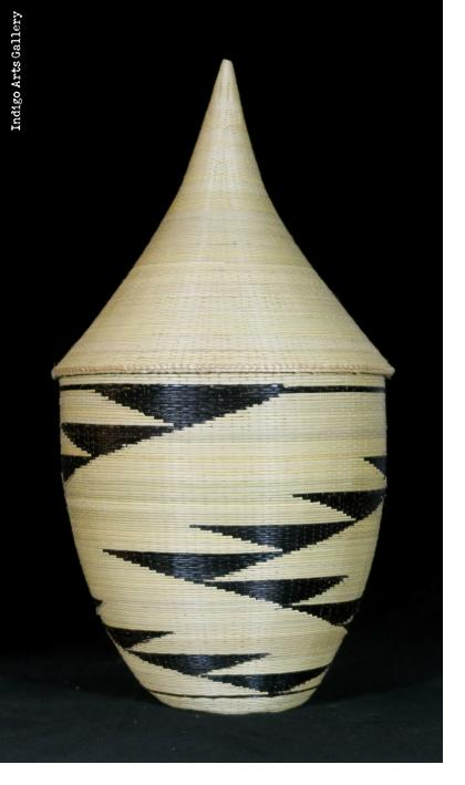 Traditional Peace Basket with Lid