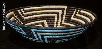 "Large Black ""Unity"" basket"