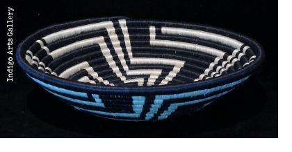 "Medium Black ""Unity"" basket"