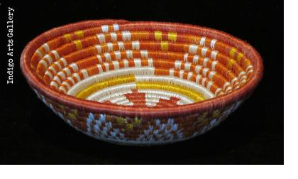 "Small Orange Festival ""Hope"" Basket"