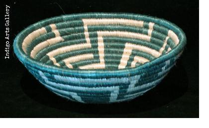 "Small Green ""Unity"" basket"