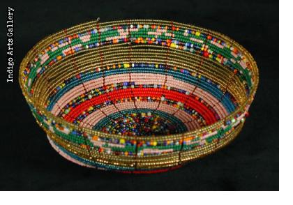 Samburu Beaded Bowls - Large