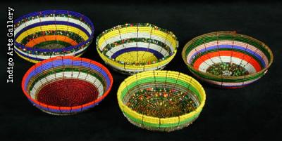 Samburu Beaded Bowls - Very Small