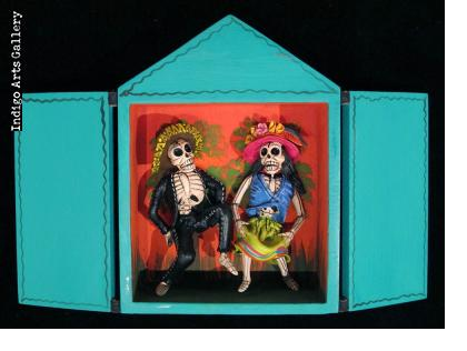 Mask Shop of the Dead - Retablo