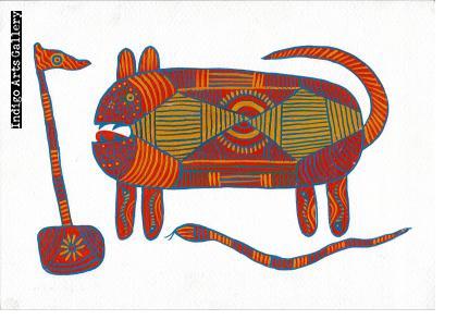 Bagesur Dev (Tiger God) I