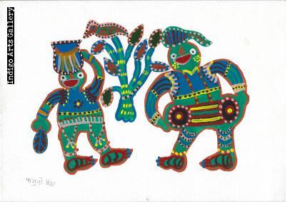 Baiga Dancers
