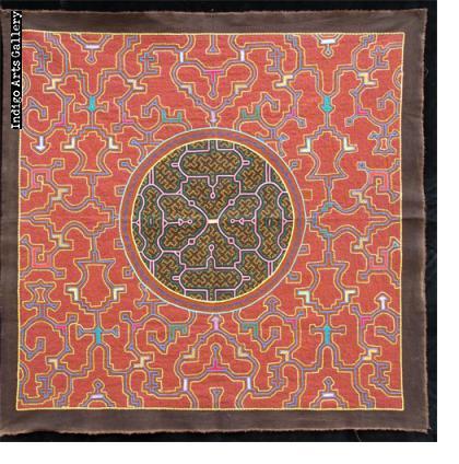 Embroidered Shipibo Cloth (#SHPC-25)