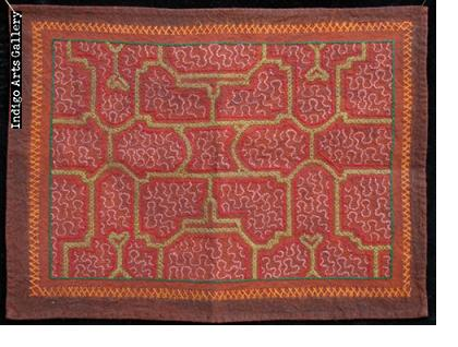 Embroidered Shipibo Cloth (#SHPC-31)
