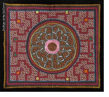 Embroidered Shipibo Cloth (#SHPC-32)