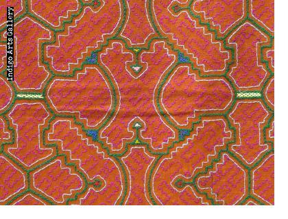 Embroidered Shipibo Cloth Falda