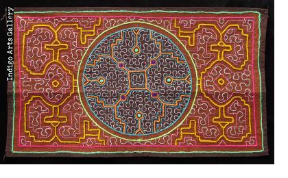 Embroidered Shipibo Cloth