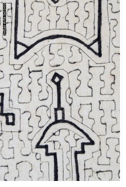 Hand-drawn Shipibo Cloth