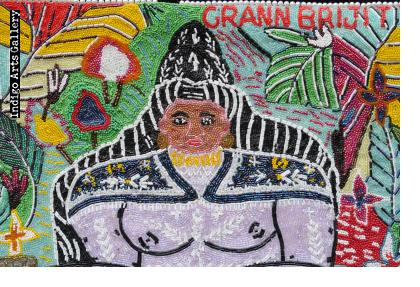 Grann Brijitte - Drapo Vodou (Vodou flag)