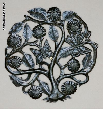 Sunflower & Butterfly Tree