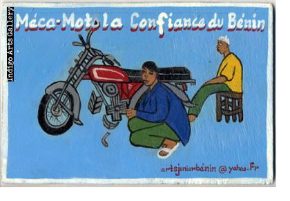 Motorcycle Repair Sign