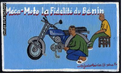 Meca-Moto La Fidelité du Benin - Sign Board
