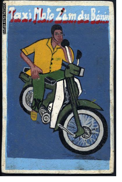 Taxi Moto Zem du Benin - Sign Board