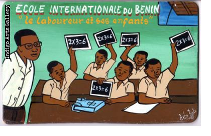 """Ecole Internationale du Benin """"Le laboureur et ses enfants"""""""