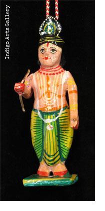 Standing Hindu God and Goddess Ornaments