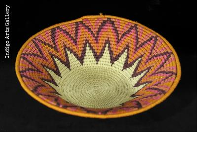 Sisal Basket from Swaziland