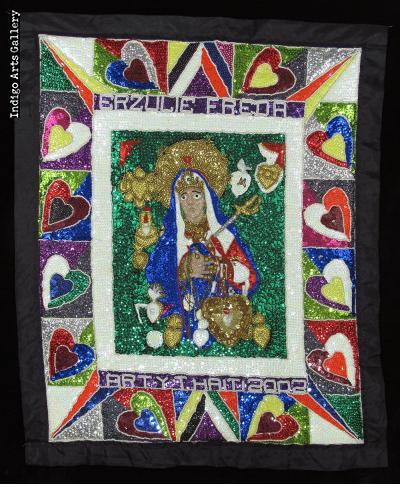 Erzulie Freda Vodou Flag