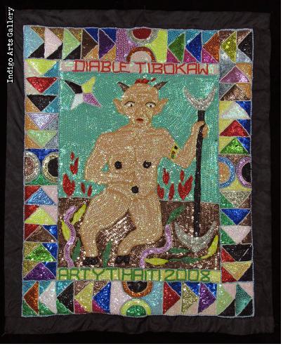 Diable Tibokaw Vodou Flag