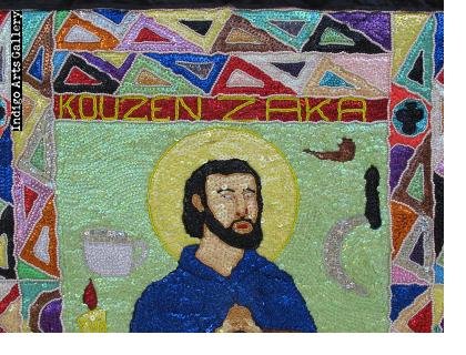 Kouzen Zaka - Vodou Flag