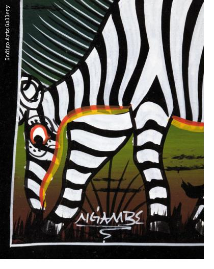 Buffaloes and Zebras