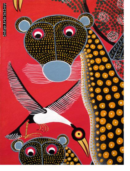 Leopards and Birds
