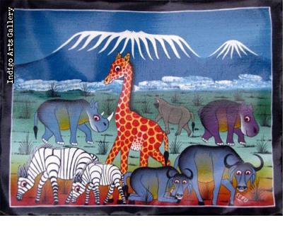 Animals Before Kilimanjaro
