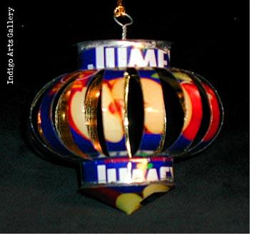 Tin Can Ornament