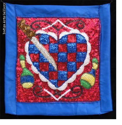 Erzulie Freda - Vodou Flag