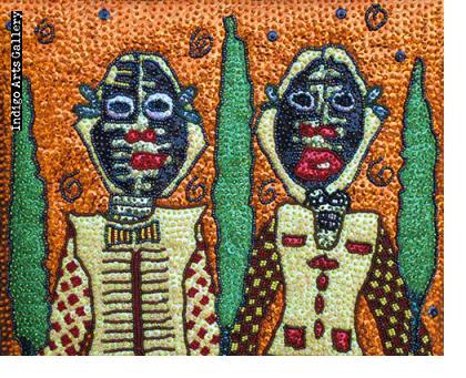 Marassa/Grand Bois - Drapo (Sequinned Banner)
