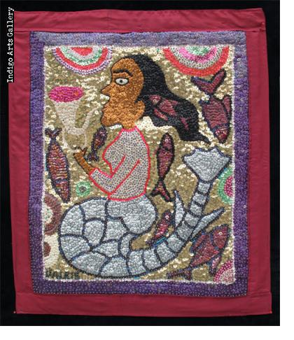 """La Sirene"" Vodou Banner"