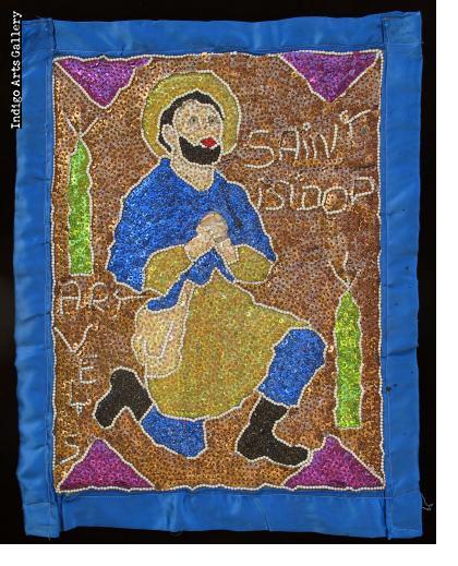 St. Isidor - Vodou Flag