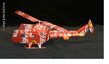 C@ca-C@la Soda Can Helicopter